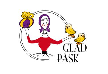 Hattmakarna & Hatty önskar Glad Påsk!
