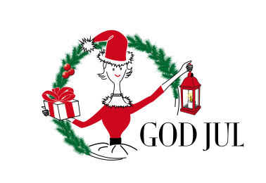 God Jul & Gott Nytt År önskar Hatty & Hattmakarna!