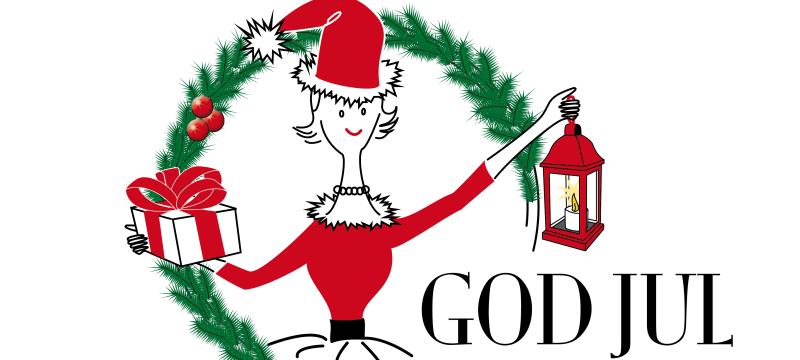 Hattmakarna & Hatty önskar God Jul!