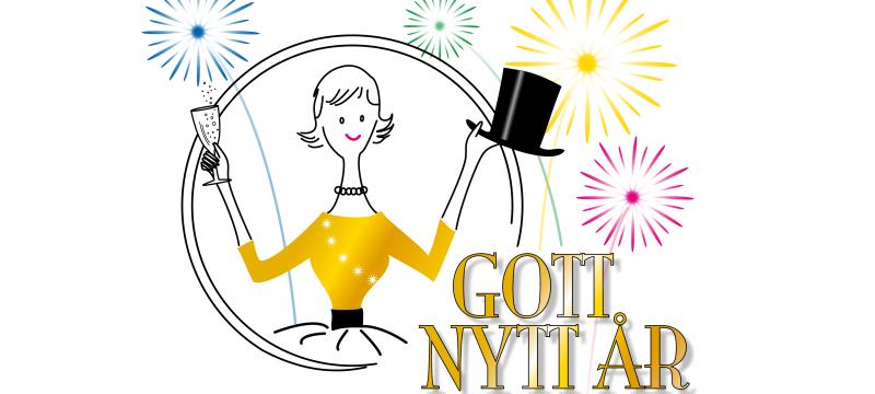 Gott Nytt År önskar Hatty & Hattmakarna!
