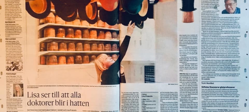 Artikel i GP om Hattmakaryrket!