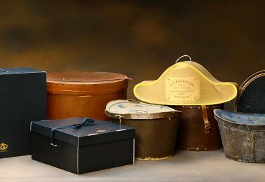 Förvara alltid din hatt i en hattask!