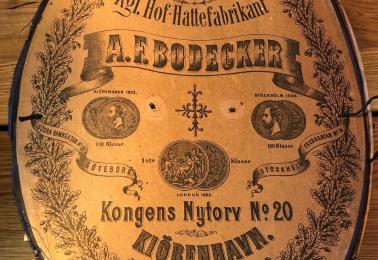 A.F. Bodecker till Franzéns Hattmakeri
